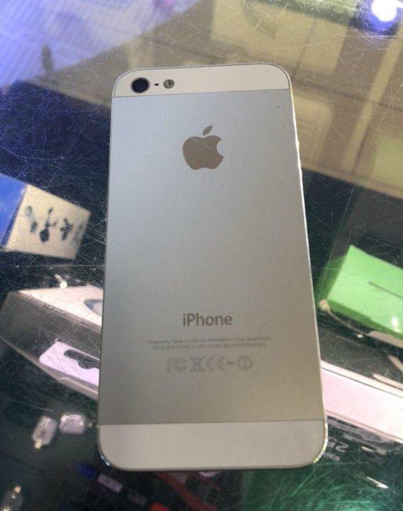 Iphone 5 16 белый. Фото 2. Ставрополь.