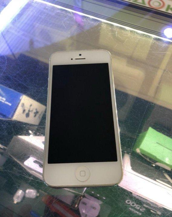 Iphone 5 16 белый. Фото 1. Ставрополь.