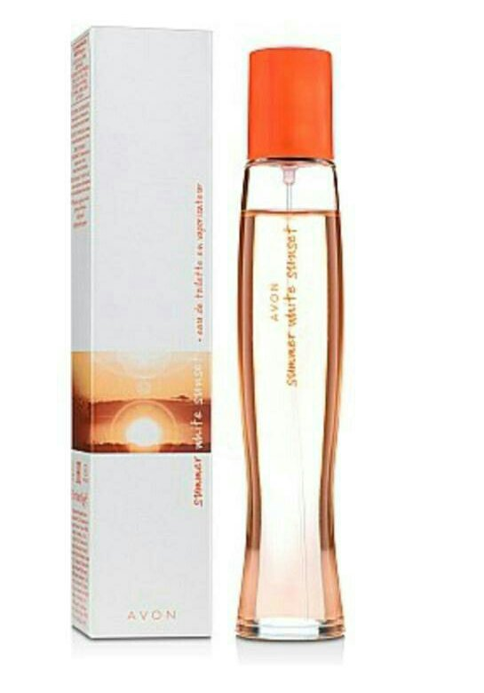 summer white sunset avon цена