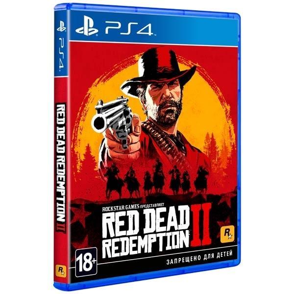 Red Dead Redemption 2 Ps4 новая в Москве 89035822534 купить 1