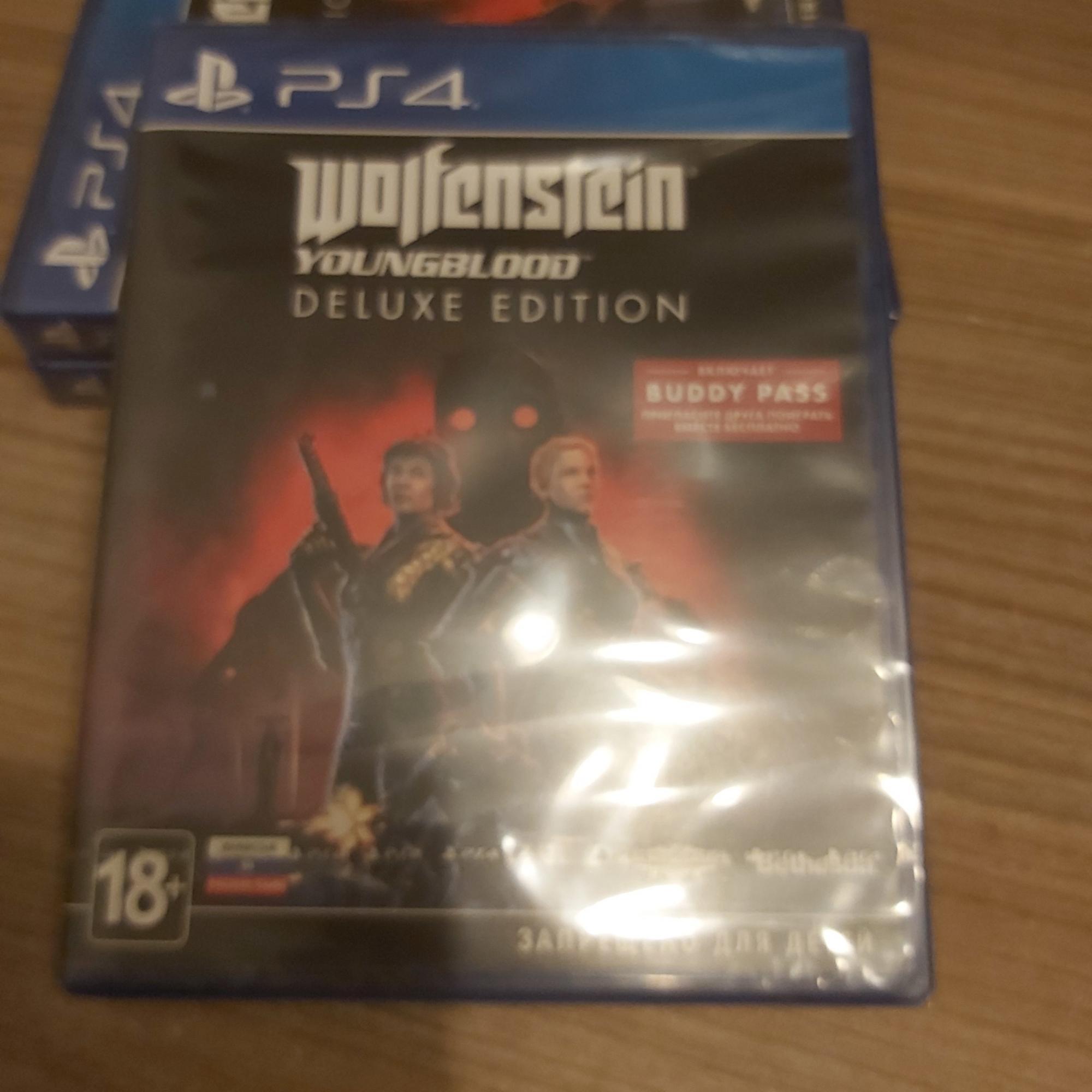 Bethesda Wolfenstein: Youngblood. Deluxe в Москве 89035822534 купить 2