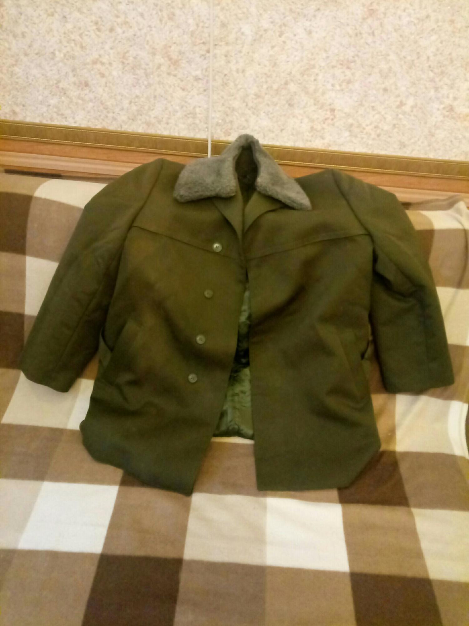 Куртка (полупальто) зимняя военная в Троицке 89055886677 купить 1