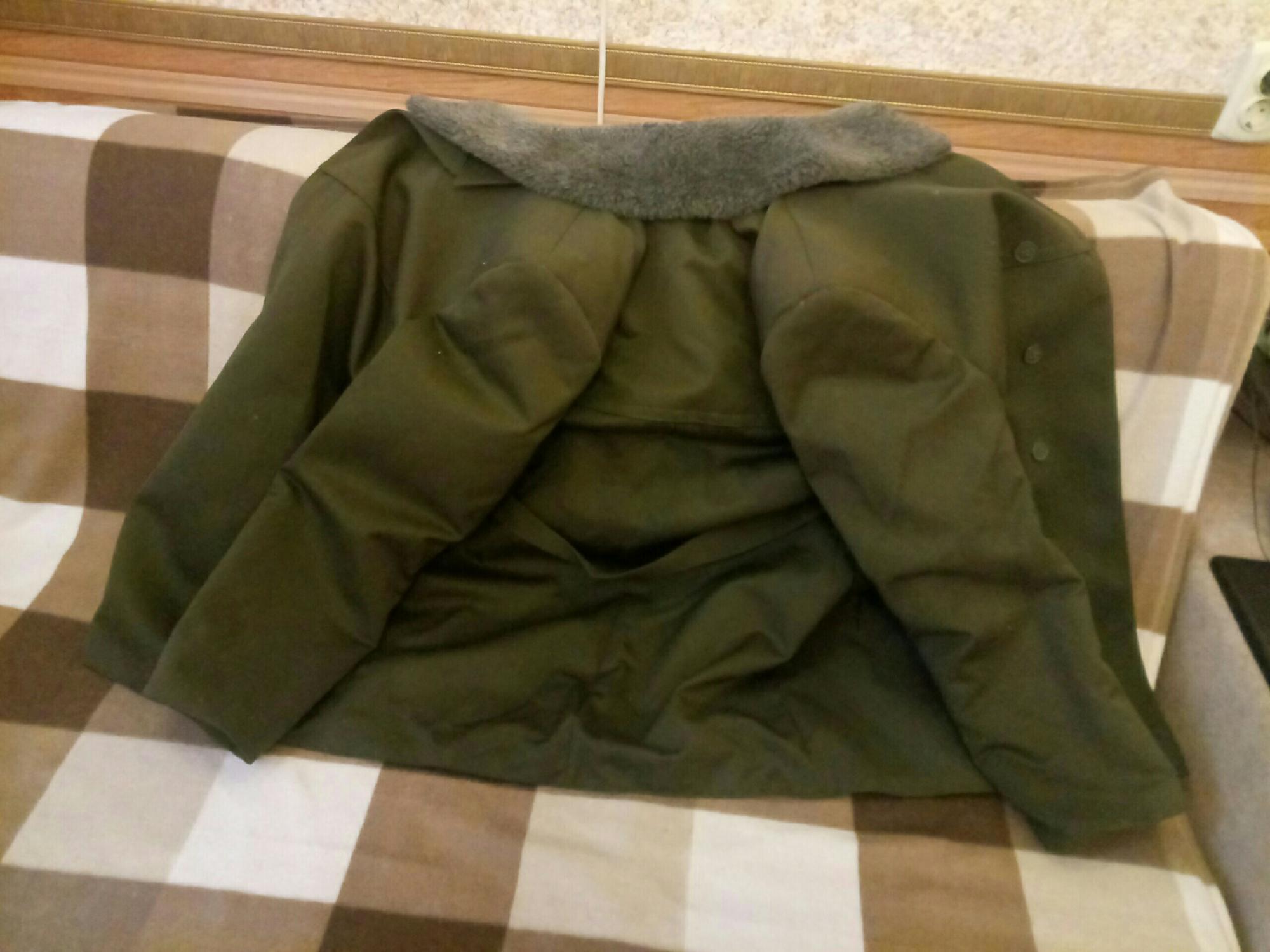 Куртка (полупальто) зимняя военная в Троицке 89055886677 купить 2