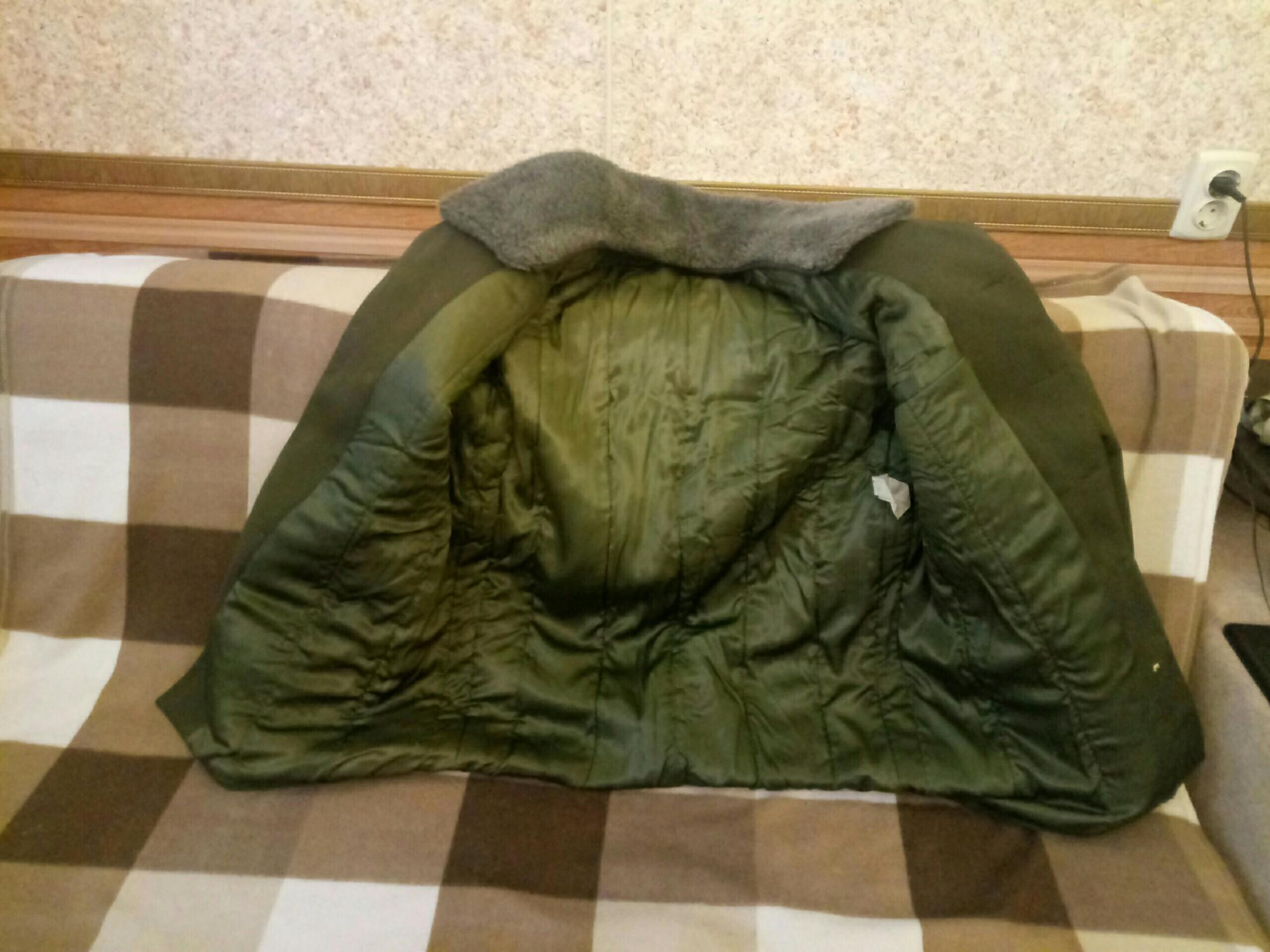 Куртка (полупальто) зимняя военная в Троицке 89055886677 купить 3