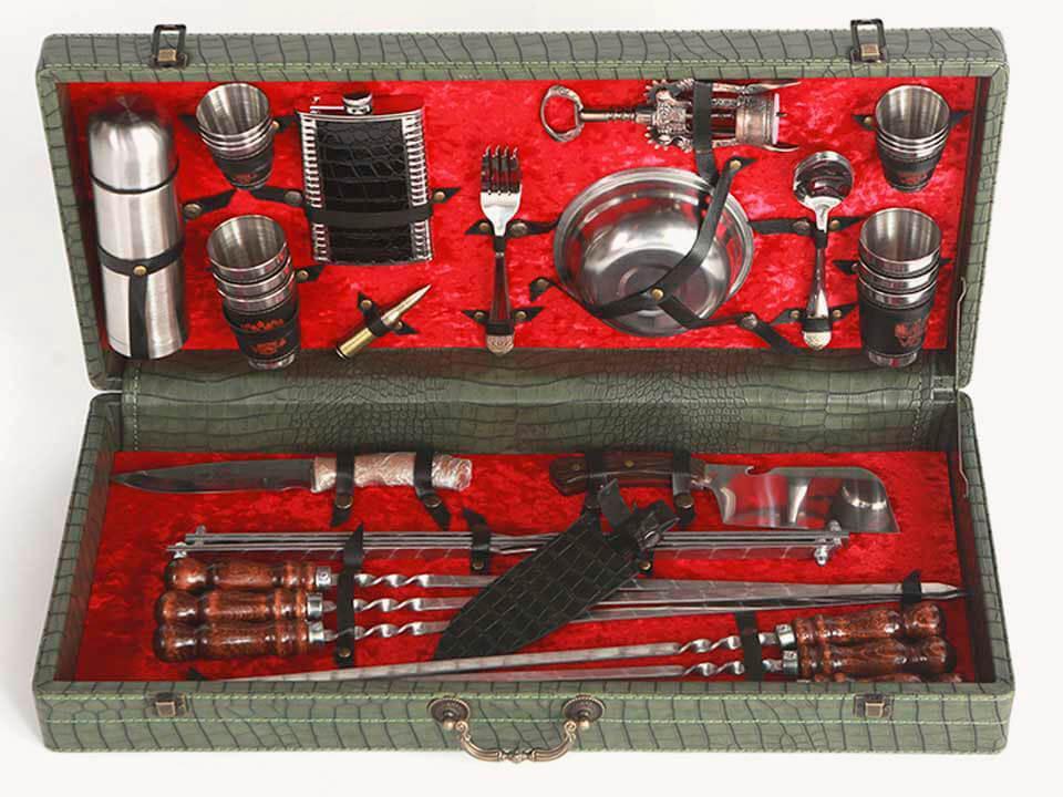 Шашлычный набор №4 - Кизлярский Зеленый в Москве 89267249203 купить 1