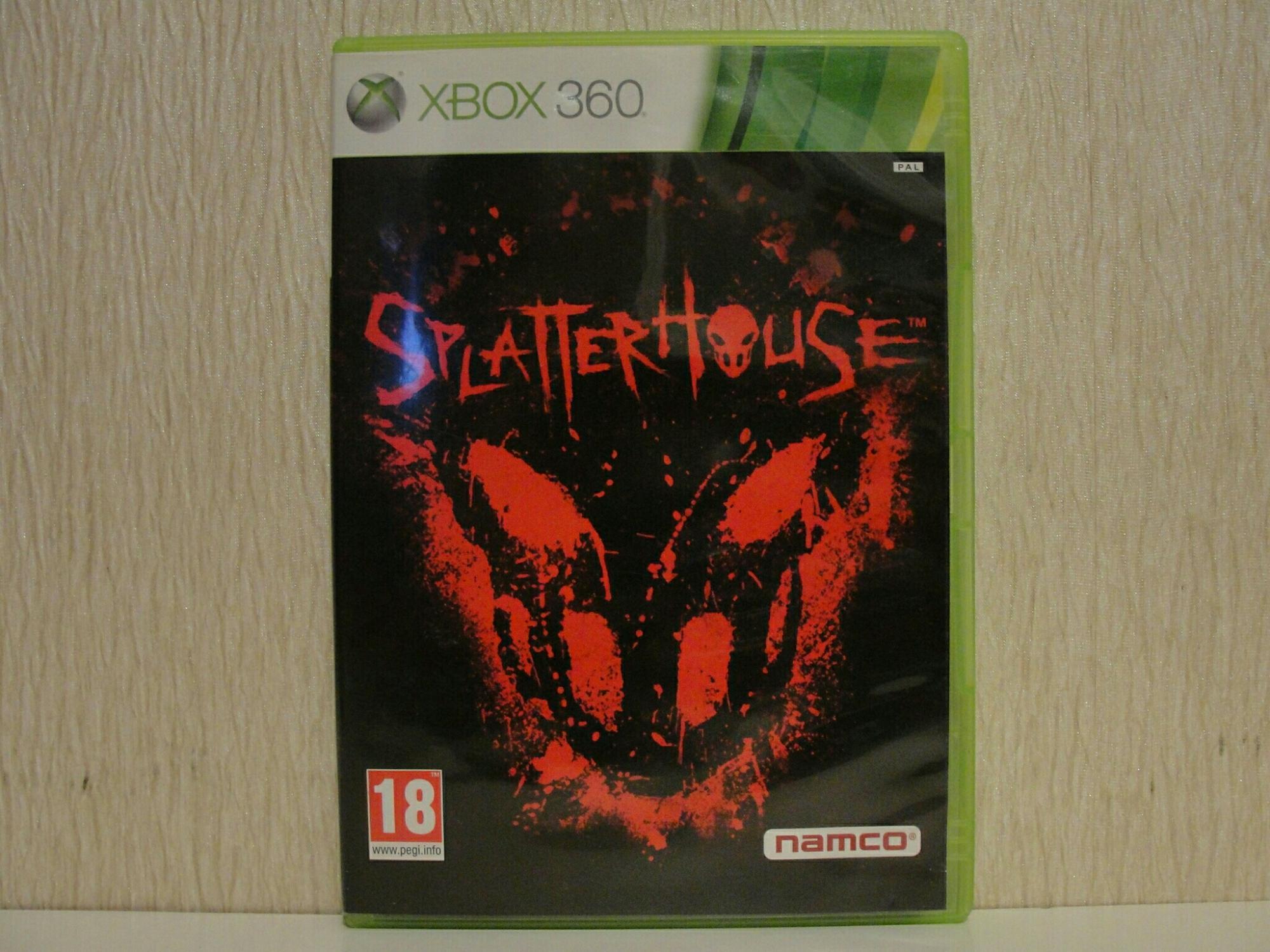 Splatterhouse Xbox 360 в Москве 89772562788 купить 1