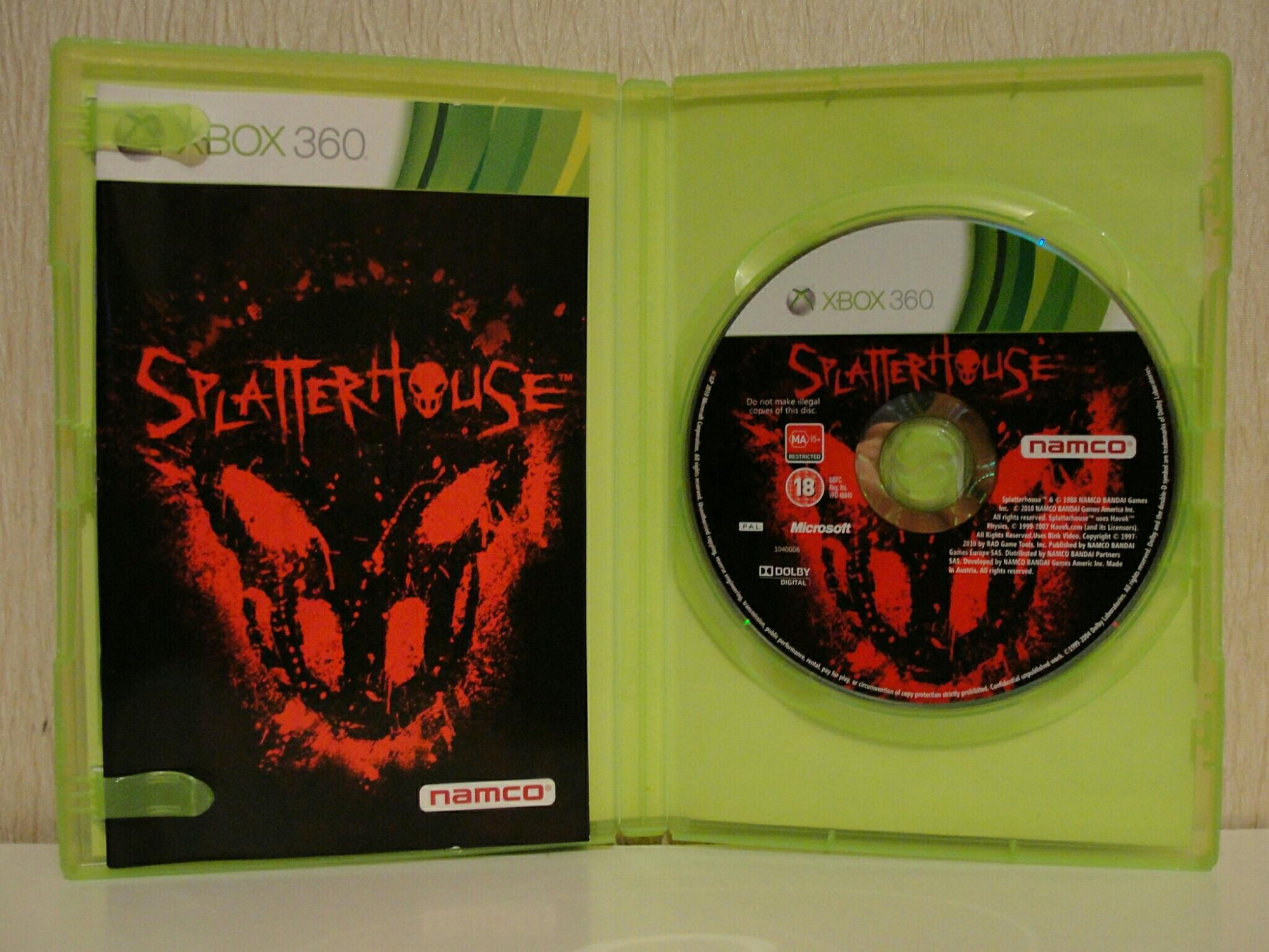 Splatterhouse Xbox 360 в Москве 89772562788 купить 2