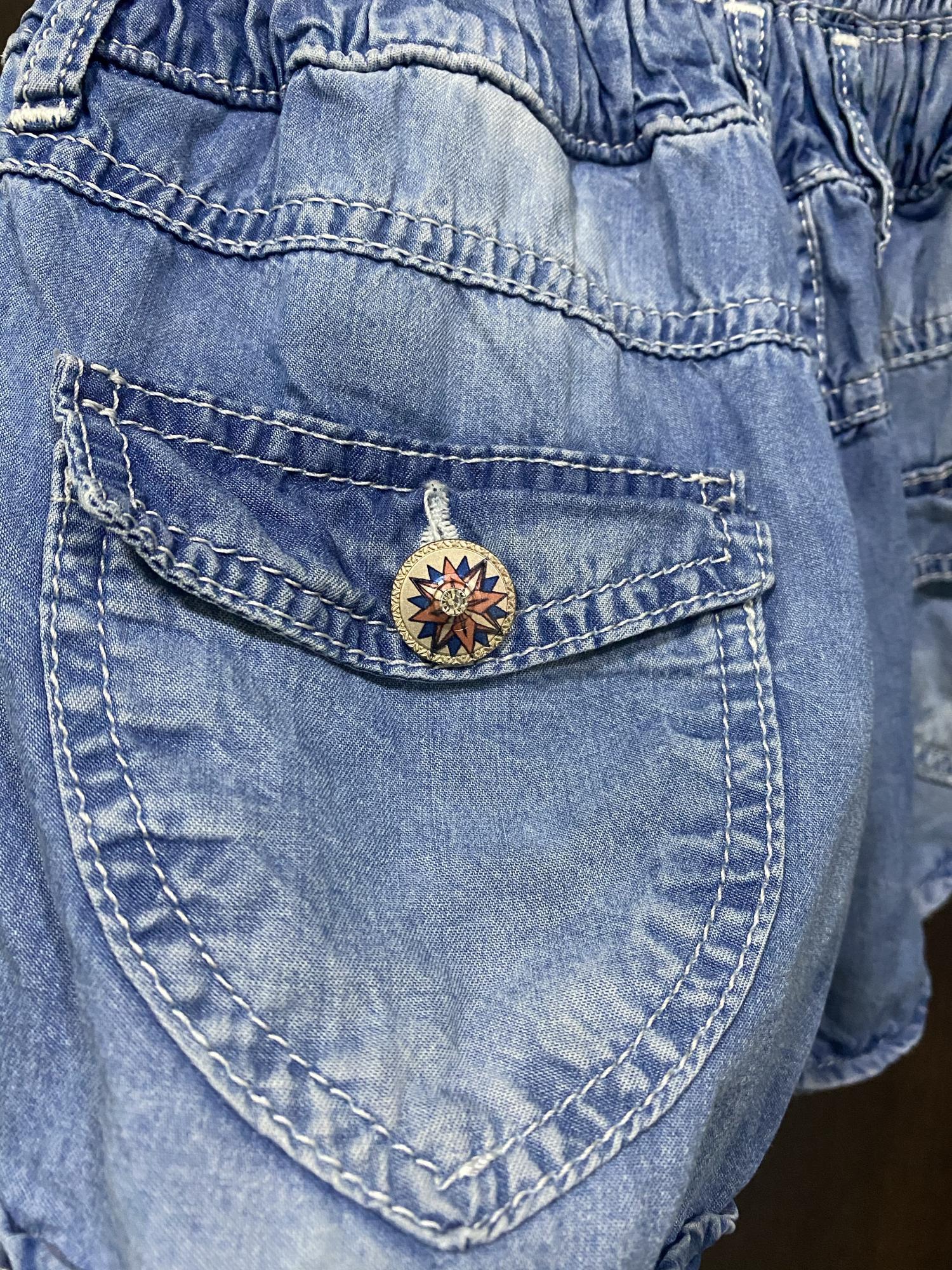 Комбинезон джинсовый в Московском 89651900500 купить 3
