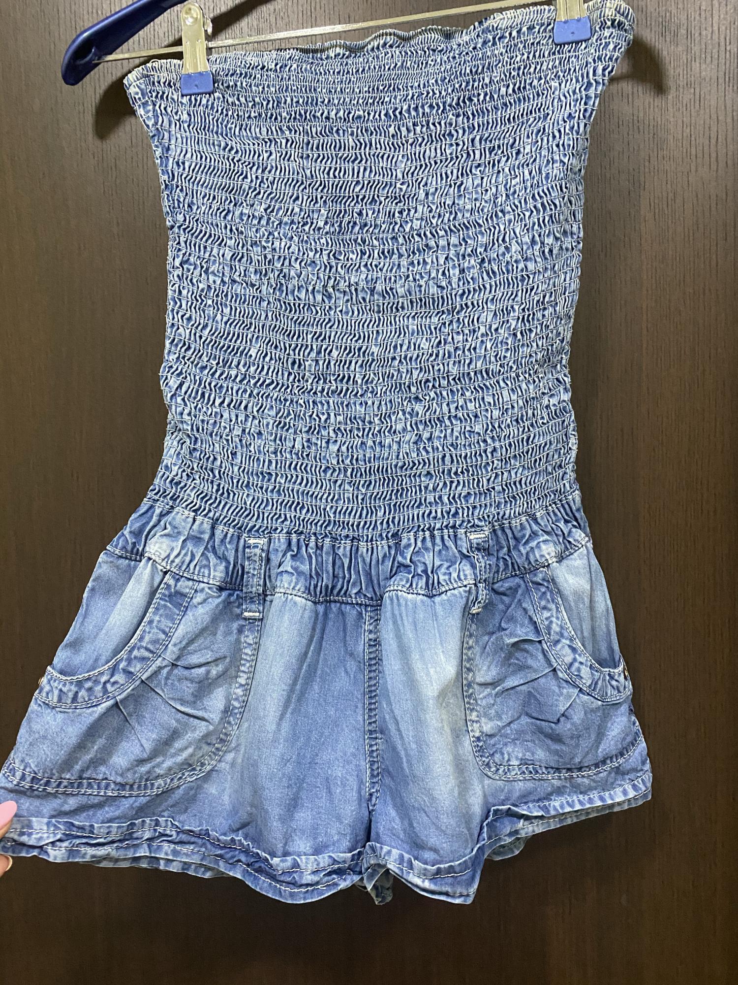 Комбинезон джинсовый в Московском 89651900500 купить 1
