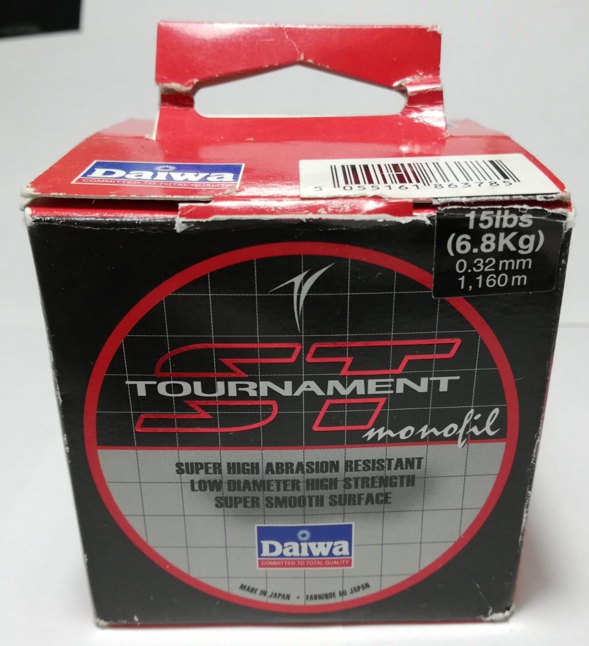 Леска Daiwa Tournament ST 15 Lb (0.32мм) - 1160м в Москве 89263358081 купить 1
