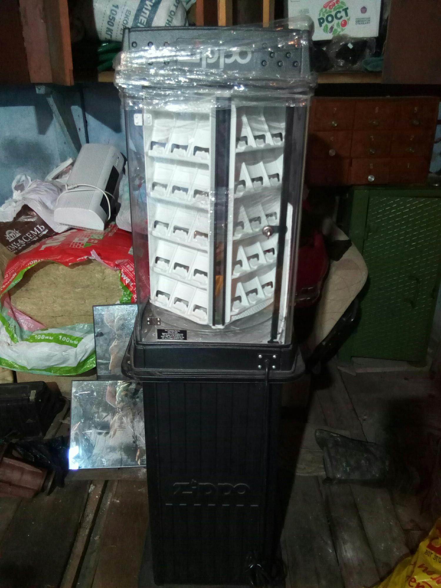 Витрина для зажигалок в Старой Купавне 89258625583 купить 1