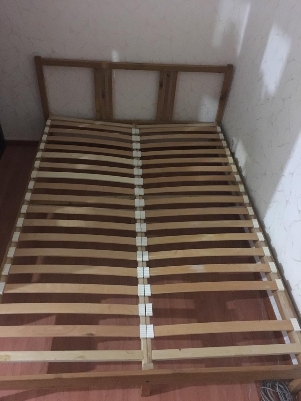 Кровать с матрасом ИКЕА в Химках