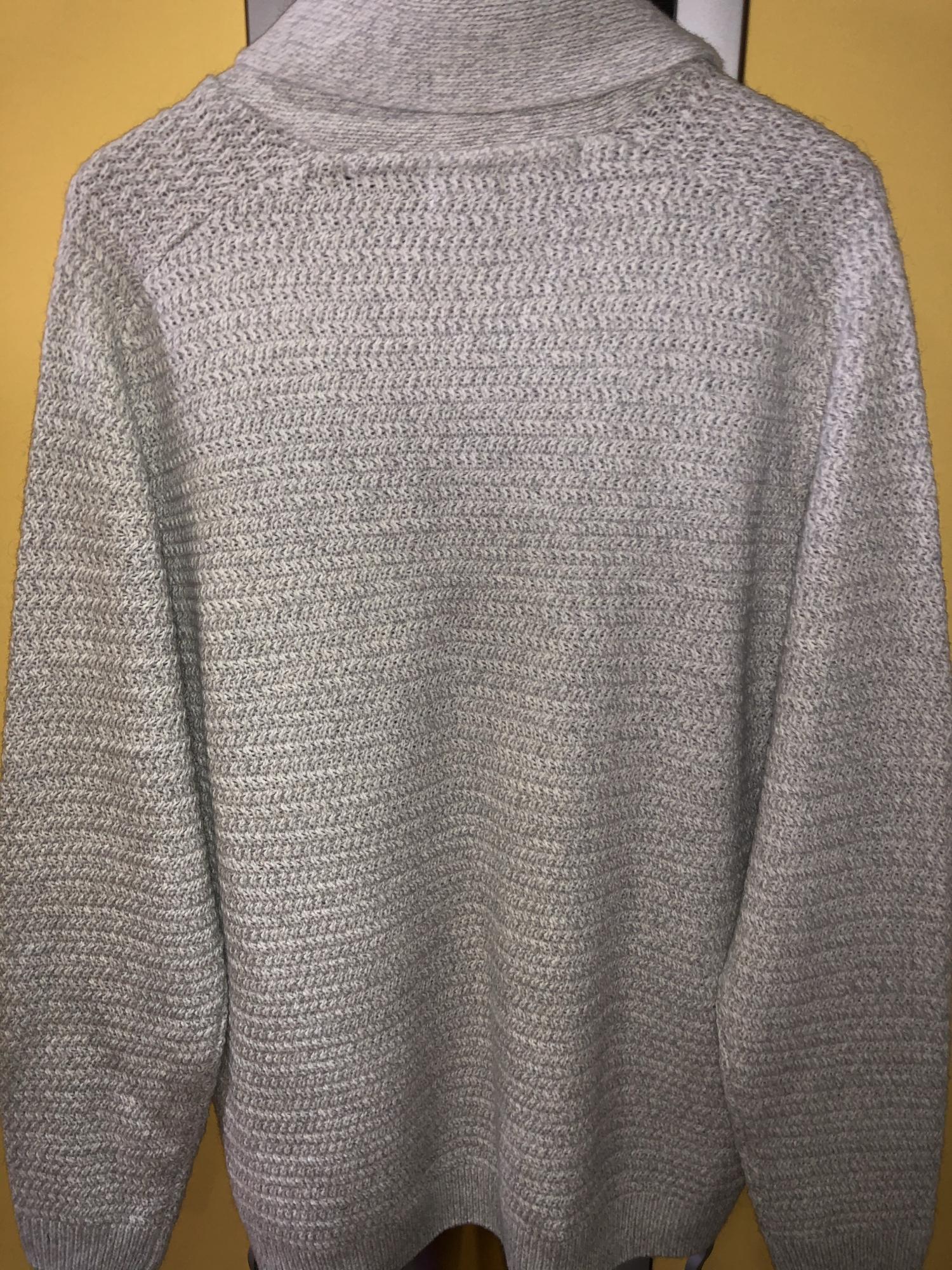 Джемпер кофта кардиган XXL серый в Москве 89035626956 купить 4