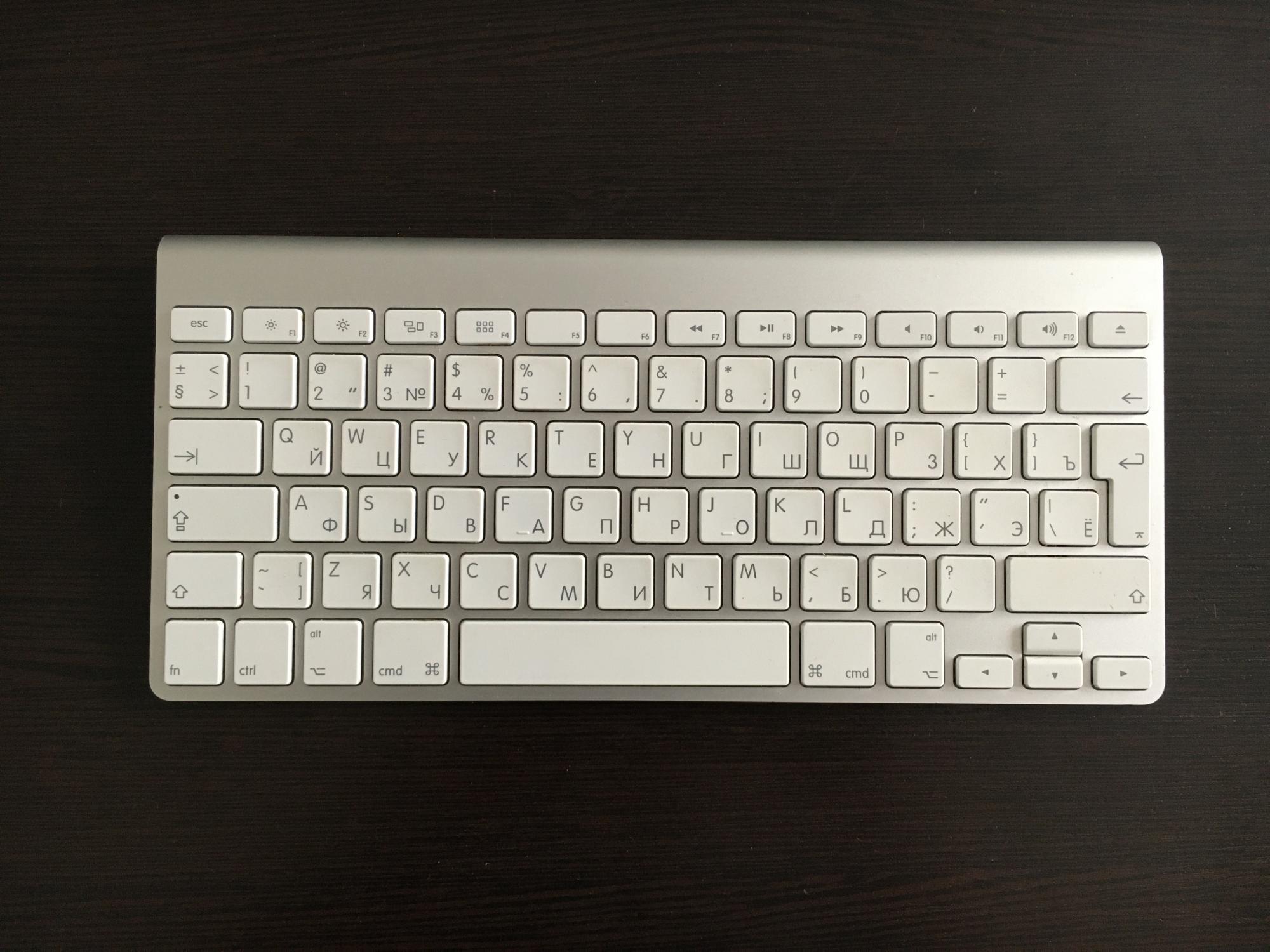 Apple клавиатура беспроводная A1314 купить 1