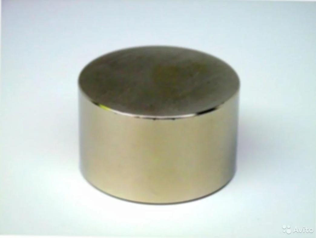 Неодимовые магниты цилиндрические 60х30мм в Москве 89261018212 купить 1