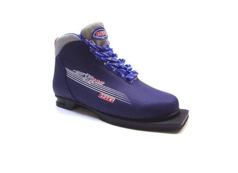 Ботинки лыжные ISG .НОВЫЕ.размер 32 в Москве 89257316610 купить 1