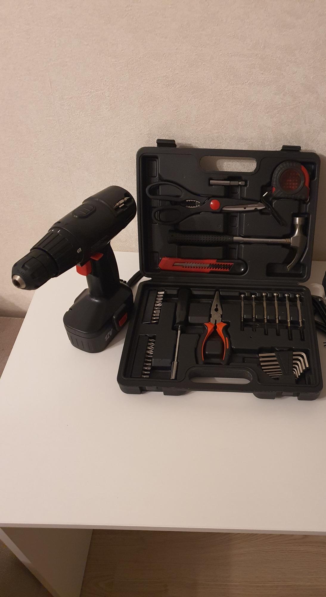 Шуруповерт + набор инструментов в Москве 89032025299 купить 1
