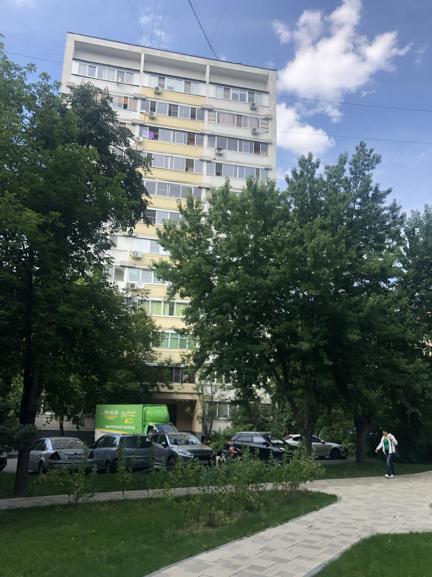 Apartment, 1 room, 38.4 m2 in Moscow 89637122788 buy 10