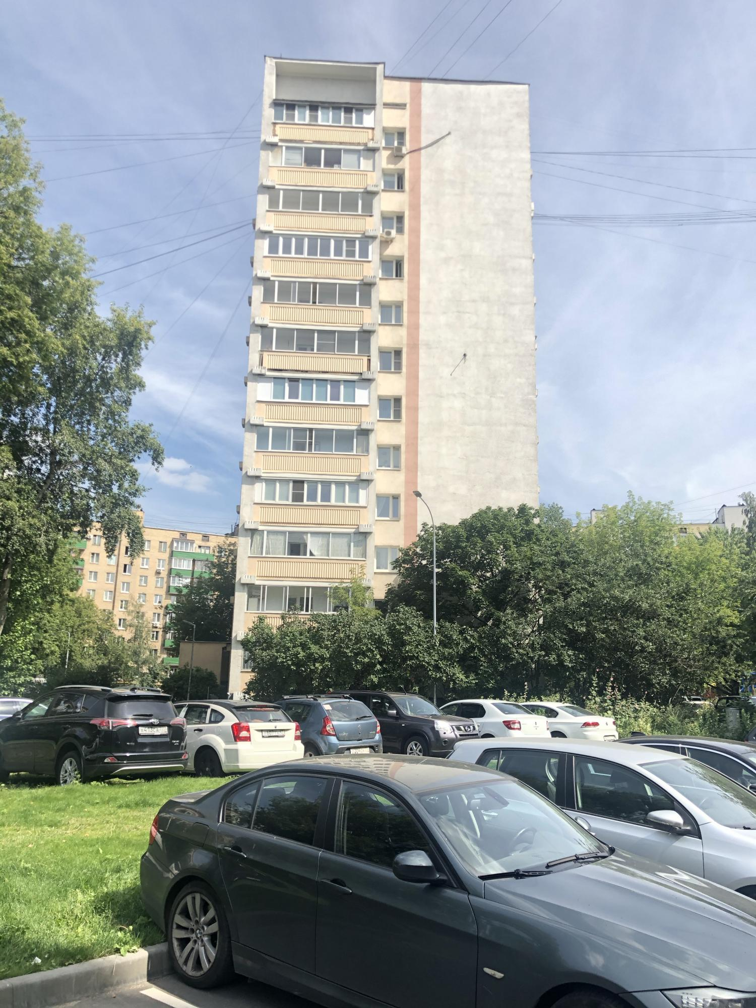 Apartment, 1 room, 38.4 m2 in Moscow 89637122788 buy 9