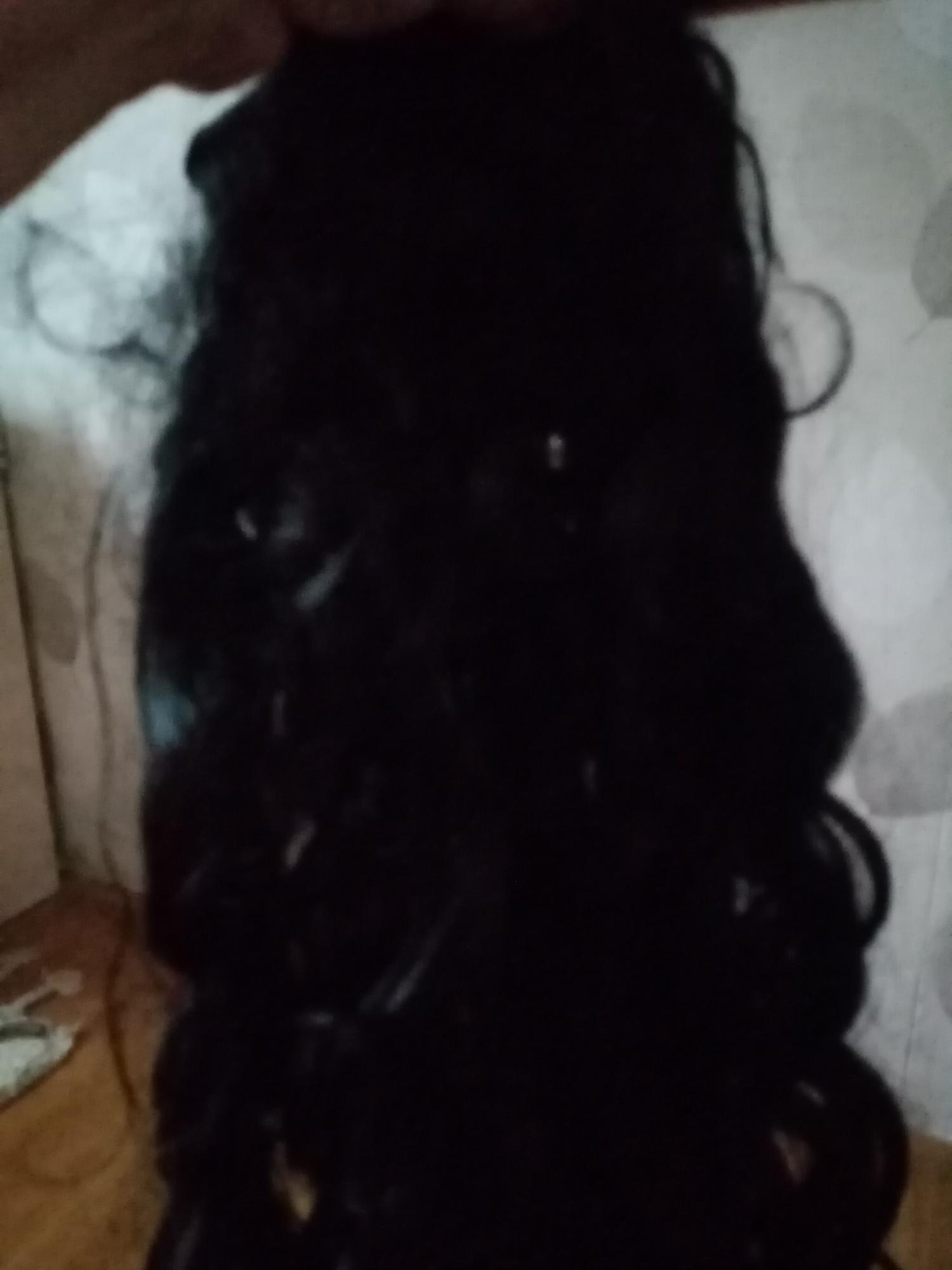 Черные локоны волос в Балашихе 89251467842 купить 1