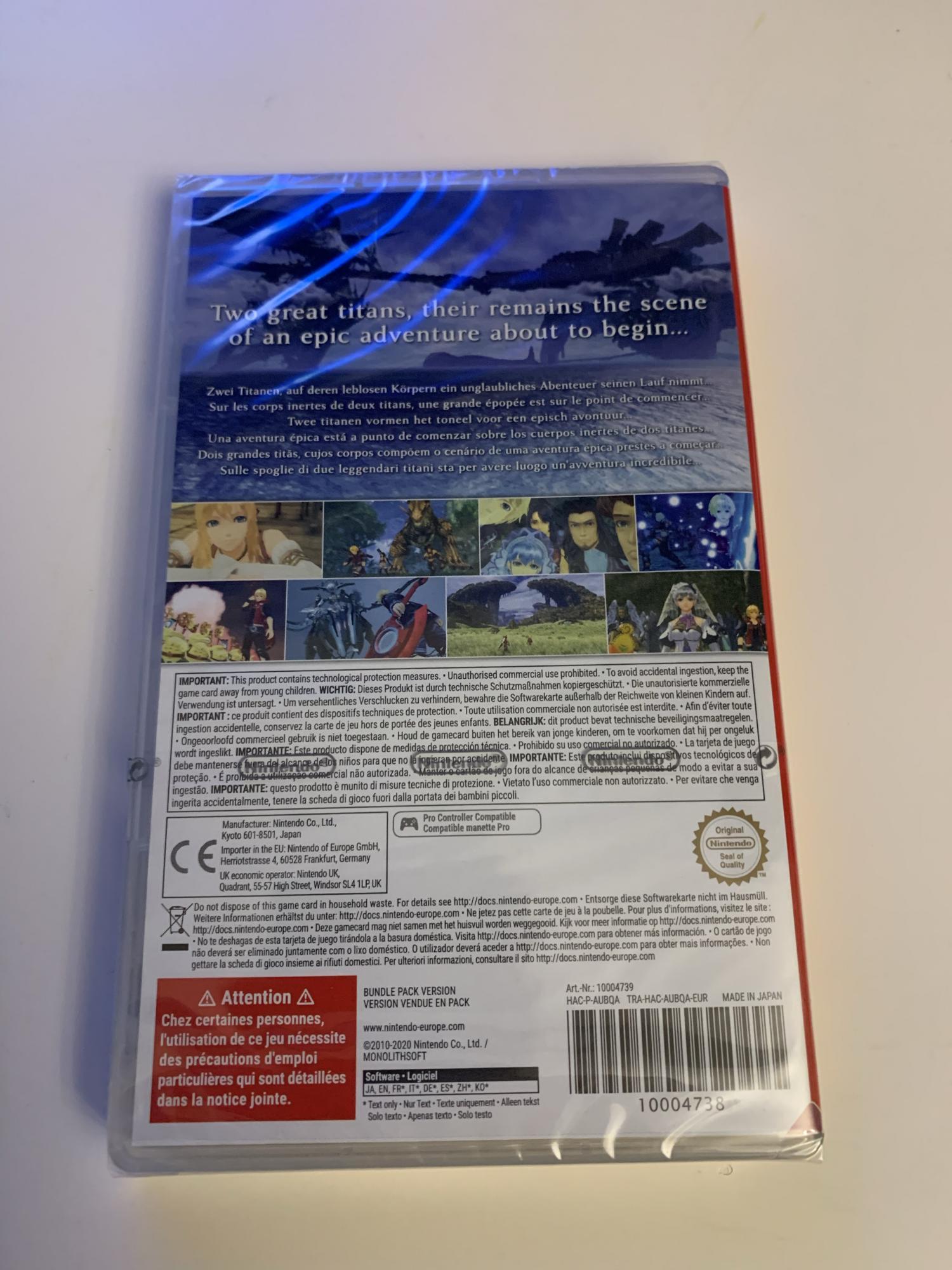 Xenoblade Chronicles Definitive edition новый в Москве 89296969399 купить 2