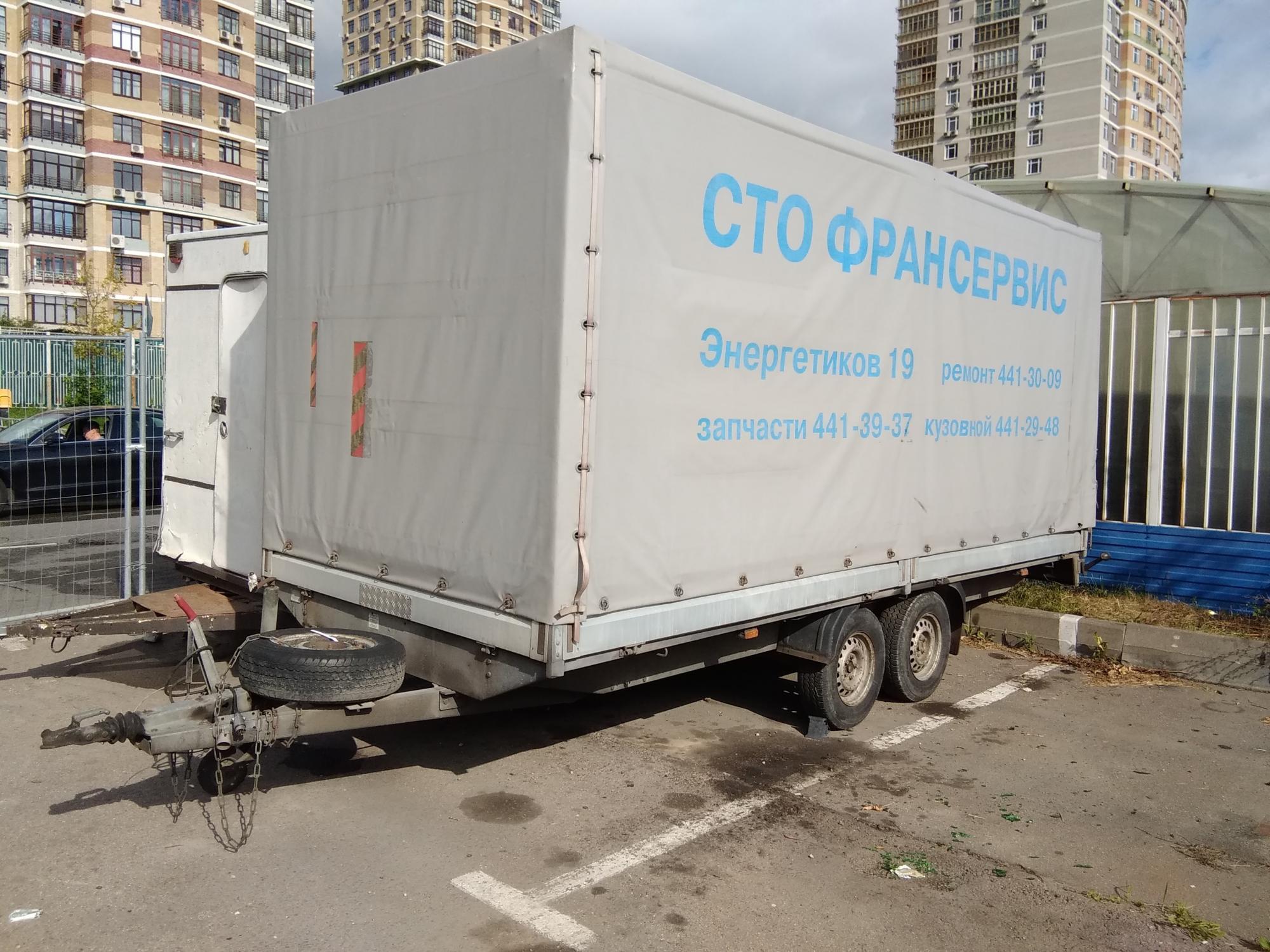Прицеп для газели, легковой прицеп в Москве 89091582518 купить 1