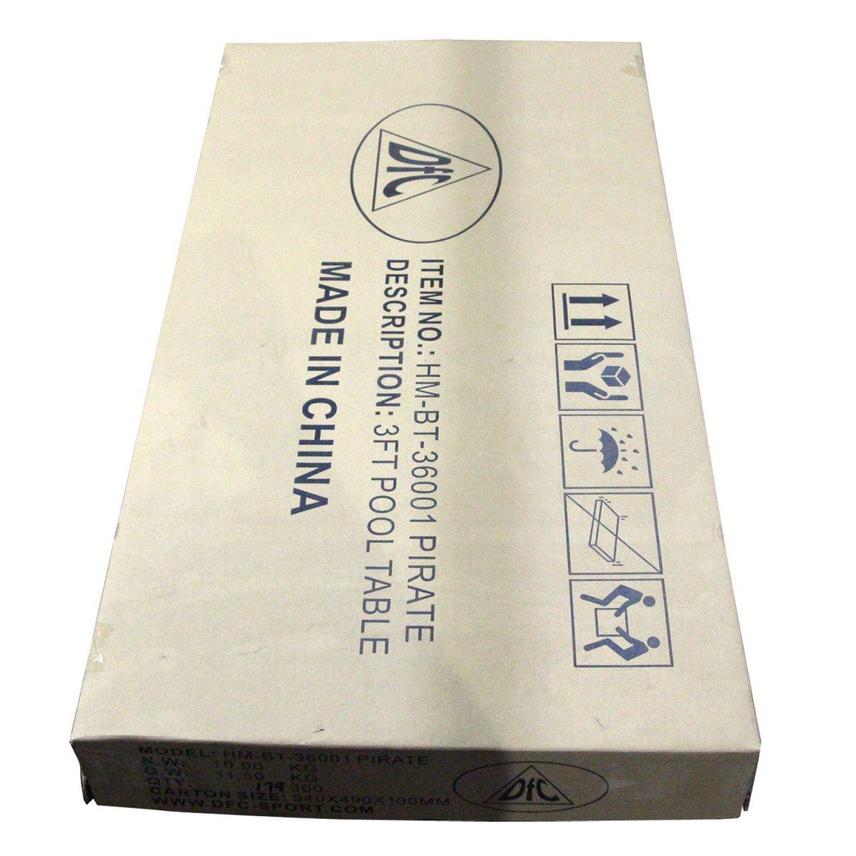 Бильярдный стол DFC PIRATE мини в Москве 78001001185 купить 5