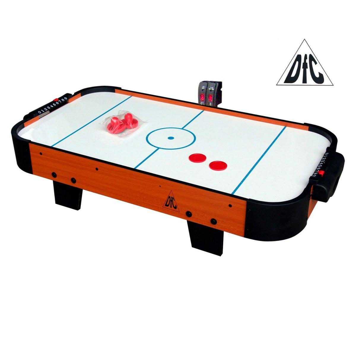 Игровой стол - аэрохоккей DFC LION PRO эл.счетчик в Москве 78001001185 купить 1