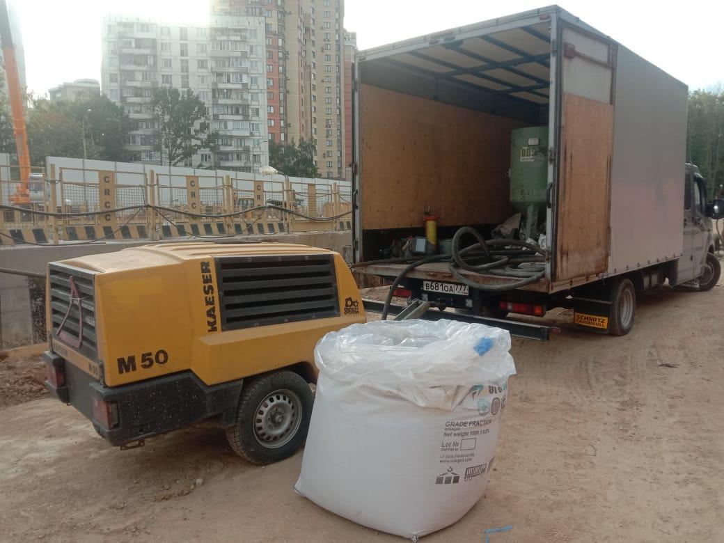 Мобильная пескоструйная очистка, Выезд, Аренда. в Москве 89263009449 купить 7