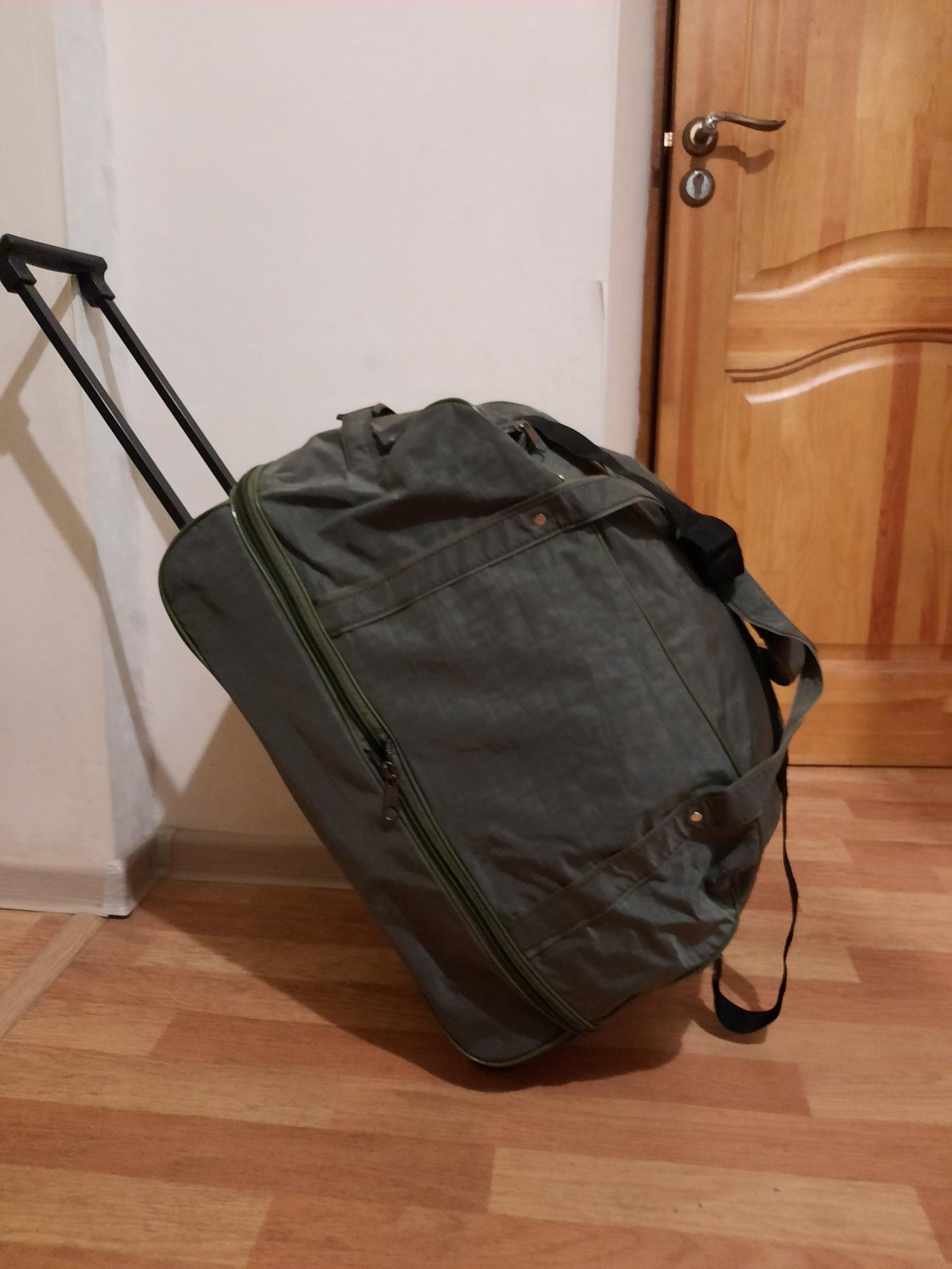 НОВАЯ дорожная сумка на колесах в Москве 89160314195 купить 3