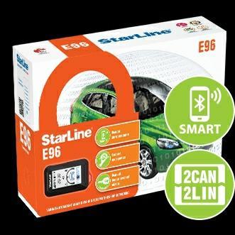 Starline E96 BT 2can+2lin от 12000 с установкой в Подольске 89771150501 купить 1