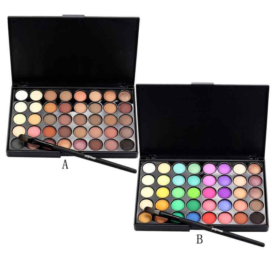 Popfeel палитра 40 разных цветов - тени для век в Москве 89299838147 купить 1