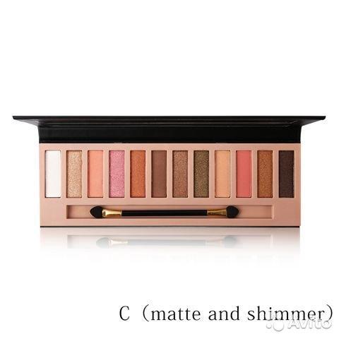 Naker 12 color eyeshadow в Москве 89299838147 купить 1