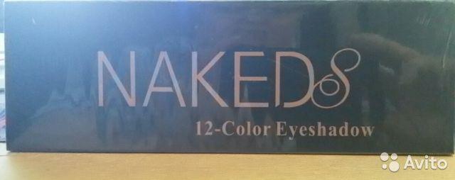 Naker 12 color eyeshadow в Москве 89299838147 купить 5