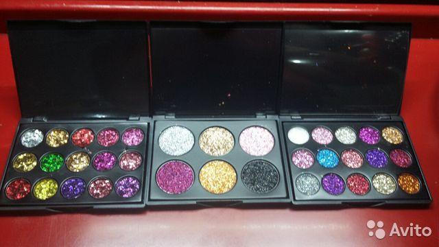 15 цветов, блестящие тени для век с блестками в Москве 89299838147 купить 3