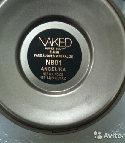 Naked heres b2uty румяна 801 анжелика в Москве 89299838147 купить 2