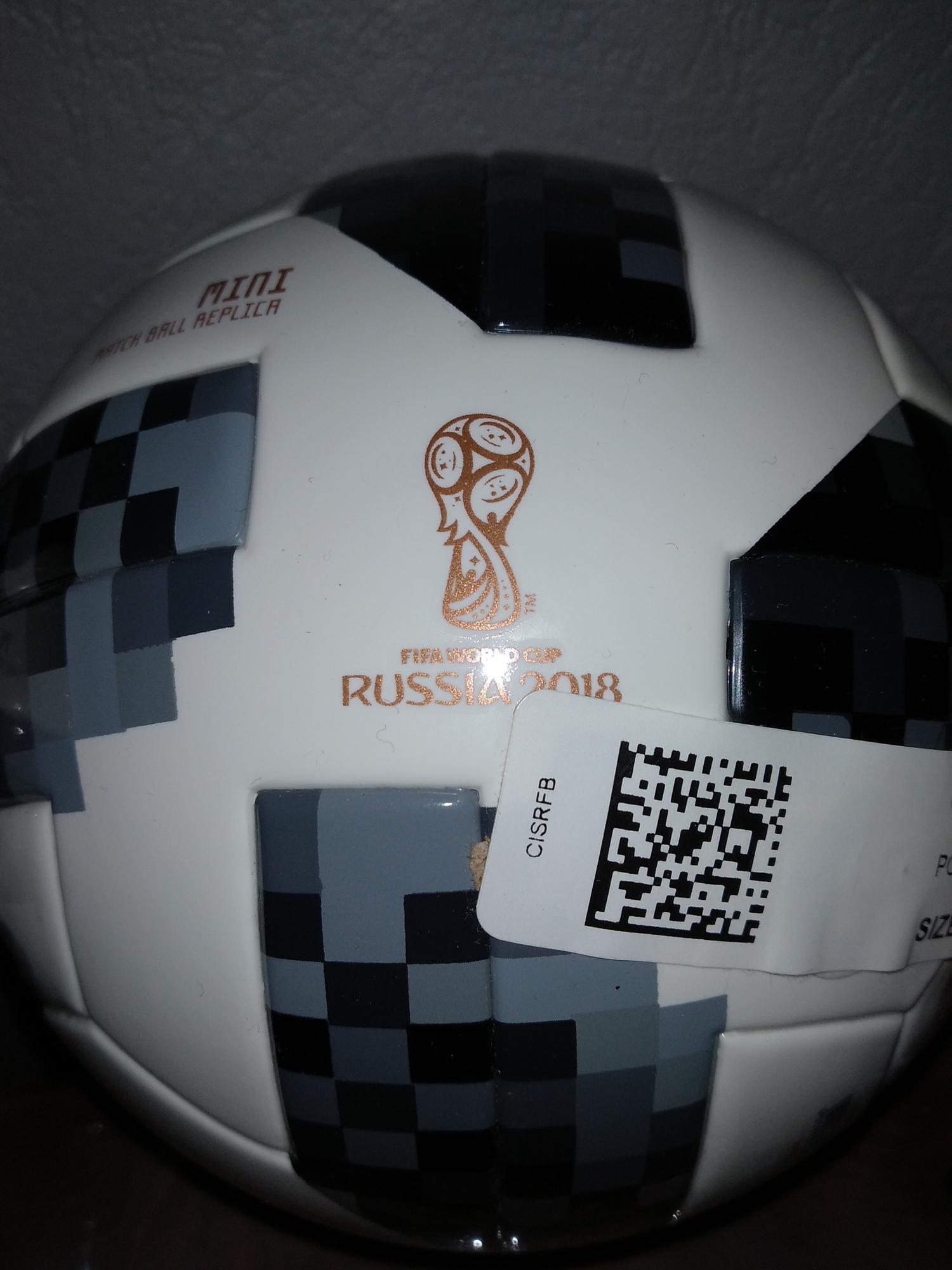 Мяч Adidas c Чемпионата 2018 в Москве