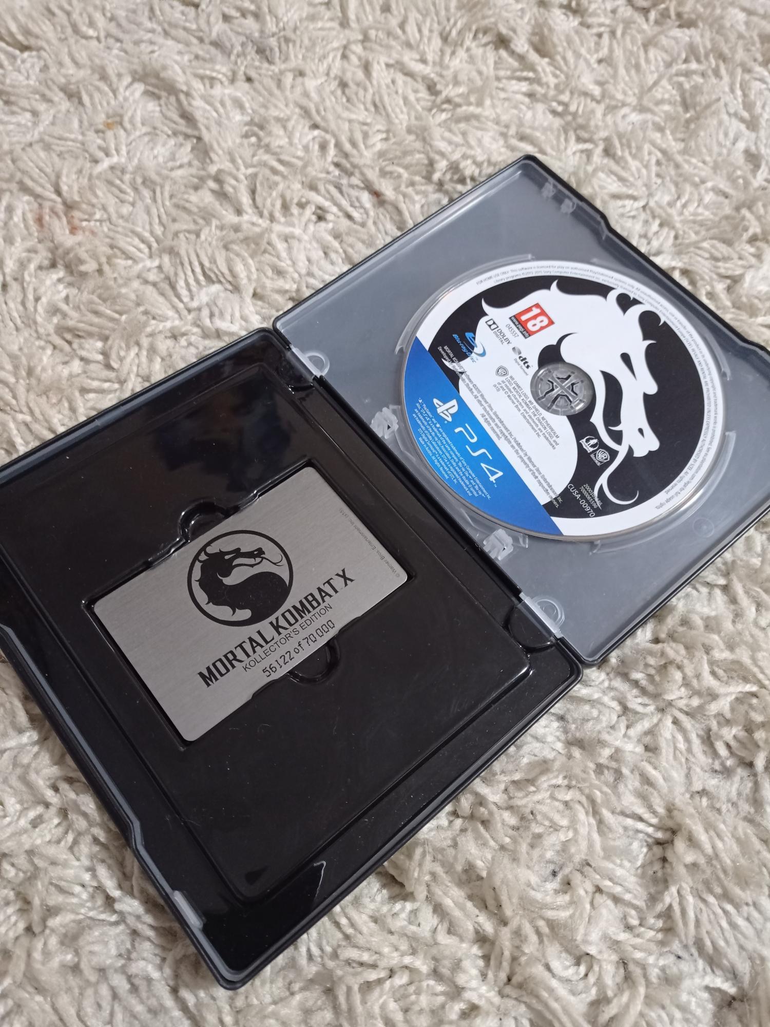 Mortal Kombat X коллекционное издание в Одинцово 89777251130 купить 2