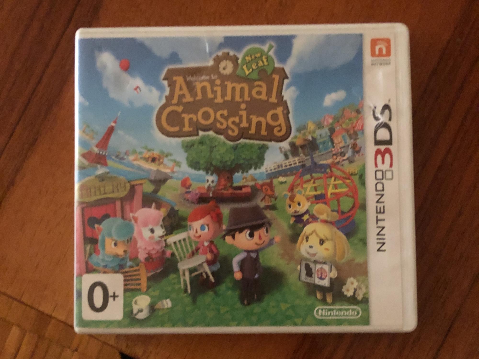 Animal Crossing New Leaf на Nintendo 3DS в Москве 89998621111 купить 1