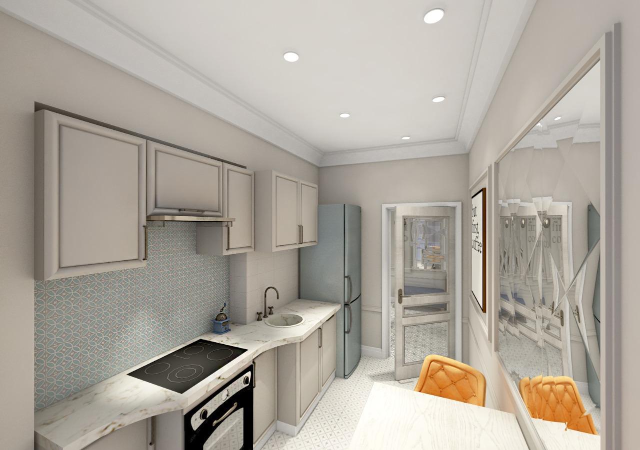 Квартира, 2 комнаты, 60 м² в Москве 89168098829 купить 5